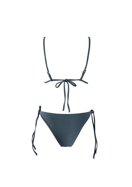 Raffia Isla Bikini Set - Slate