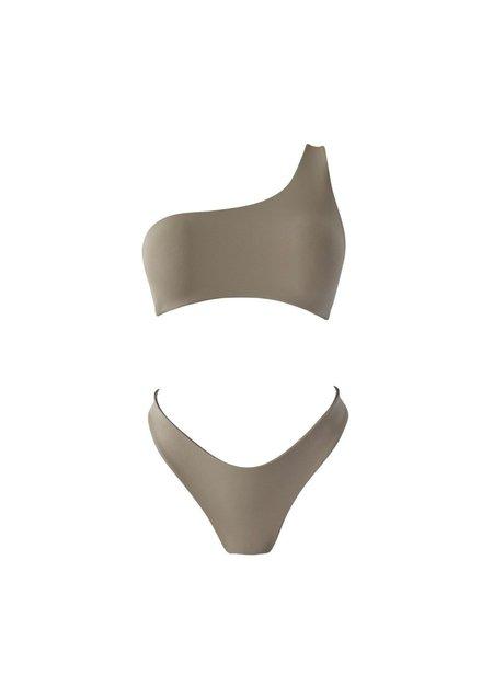Raffia Riviera Bikini Set - Sand