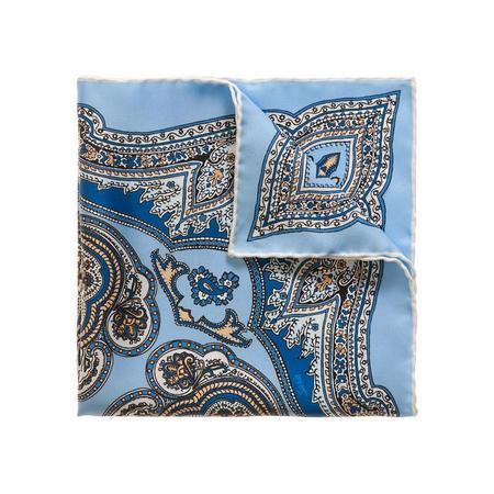 Sera Fine Silk Pocket Square - Capri