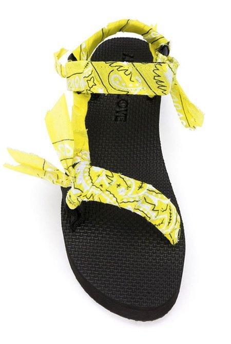 Arizona Love Trekky Platform - Yellow