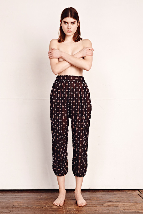 Ace & Jig Casbah Pant in Anisette