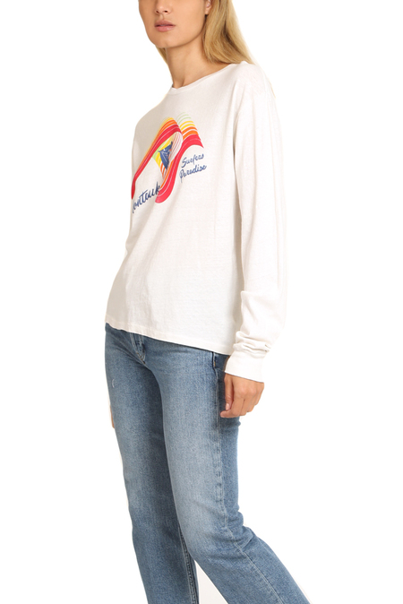 Solid & Striped x RE/DONE The Montauk Long Sleeve Top - White