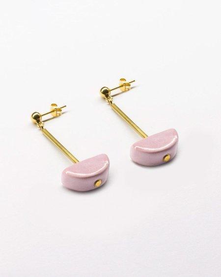 Pedrusco Sagu XS Earrings - Pink