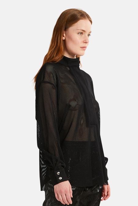 Women's RtA Josie Shirt - Black