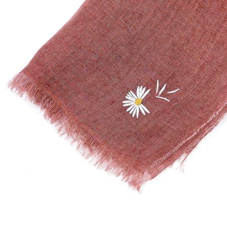 Pattino Shoe Boutique Destin Flower Scarf - Pink