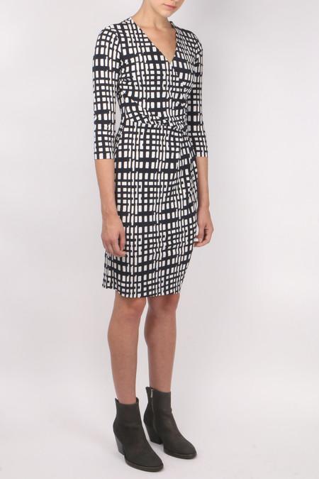 Peserico Printed V Neck Dress