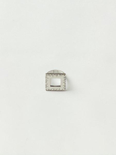 Terri Logan Square Ring - Sterling Silver