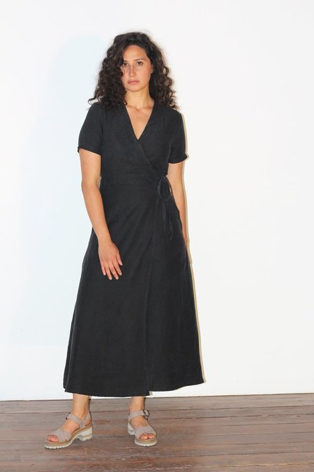 North Of West Avery Wrap Dress - Black