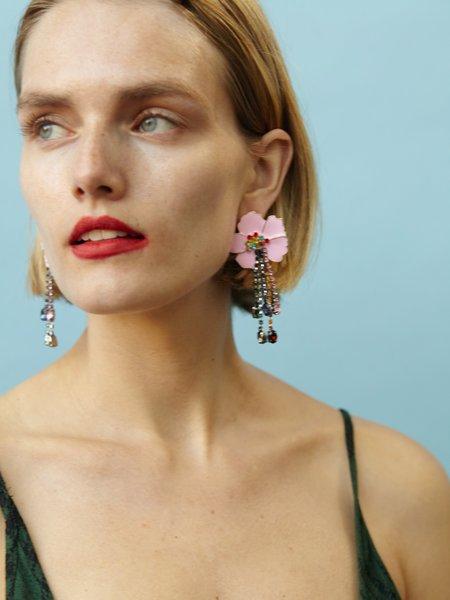 Valet Studio Heidi Earrings - Pink
