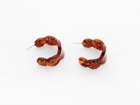 Valet Studio Lea Earrings - Caramel
