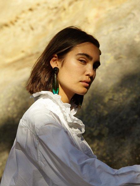 Valet Studio Margot Earrings - Green