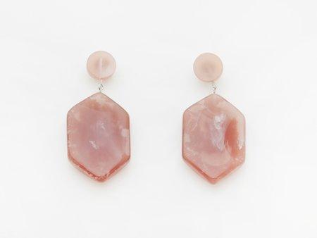 Valet Studio Natalia Earrings - Marble