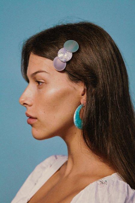 Valet Studio Paige Earrings - Blue