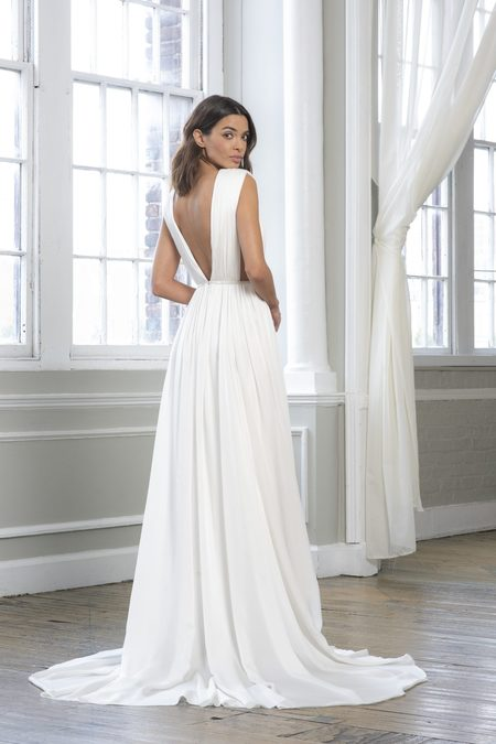 Theia Agnetha Gown - Ivory