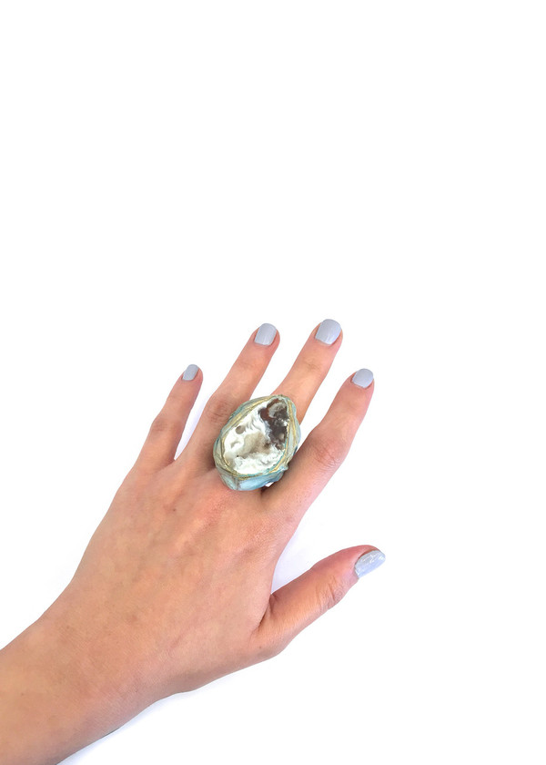 Adina Mills The Vital Ring with Geode