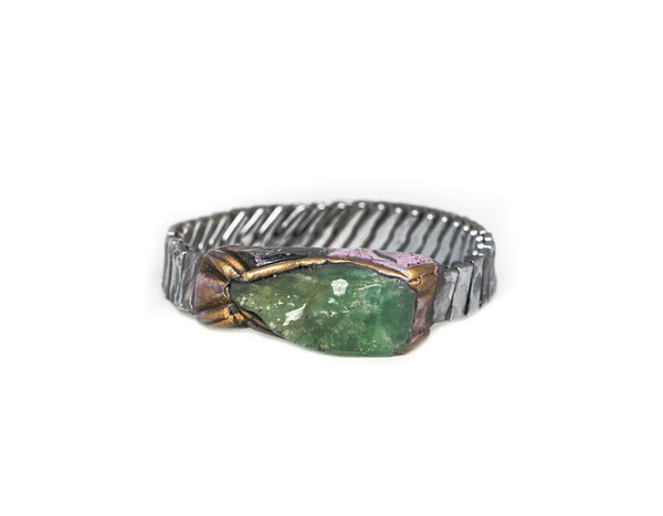 Adina Mills Time to Rock Green Calcite Bracelet