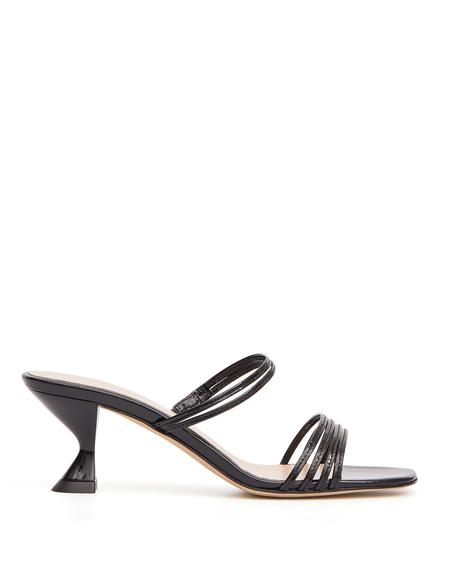 Kalda Simon Leather Sandals - Black