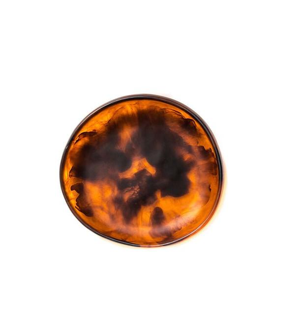 Dinosaur Designs Medium Earth Bowl in Amber