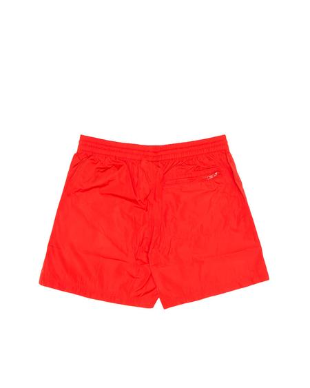 Y-3 - Nylon Swim Shorts - Red