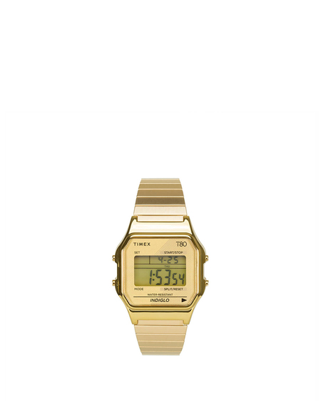 Timex T80 Expansion Watch - Gold