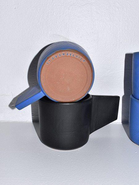 Stoneware Wolf Stoneware Cups