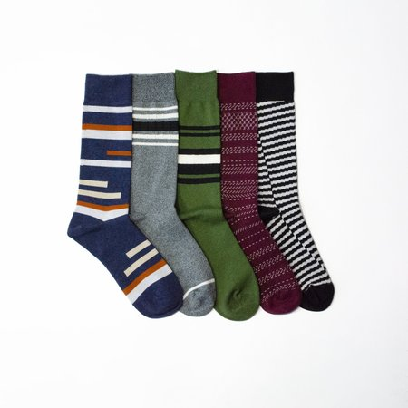 N/A Cause Stripes Are Better - 5 Pack