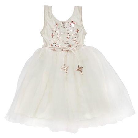 KIDS Atsuyo Et Akiko Child Amulet Dress - White