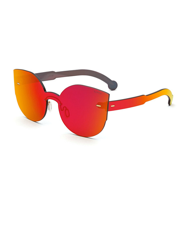 RetroSuperFuture Tuttolente Lucia Sunglasses in Red