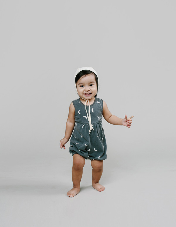 Kid's Rylee & Cru Moon Playsuit