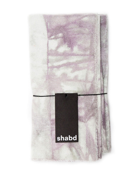 Shabd Crystalline Napkin Set in Smoke