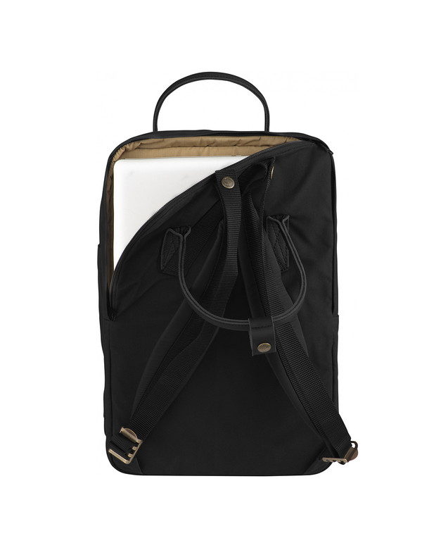 "Fjallraven 15"" Laptop Kanken No. 2 Black Black"