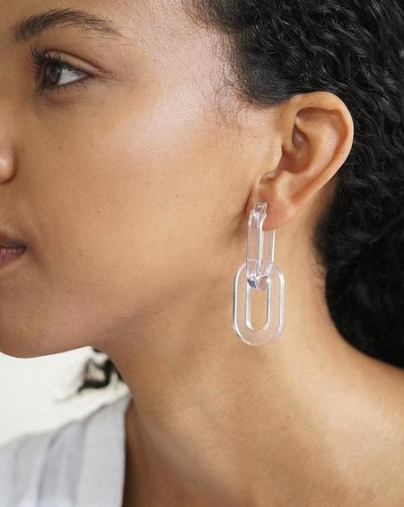 Baleen Catena Earrings
