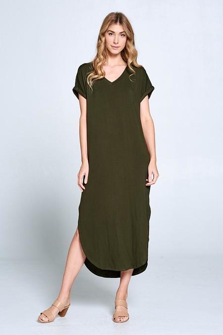 Ellison Maxi T Shirt Dress