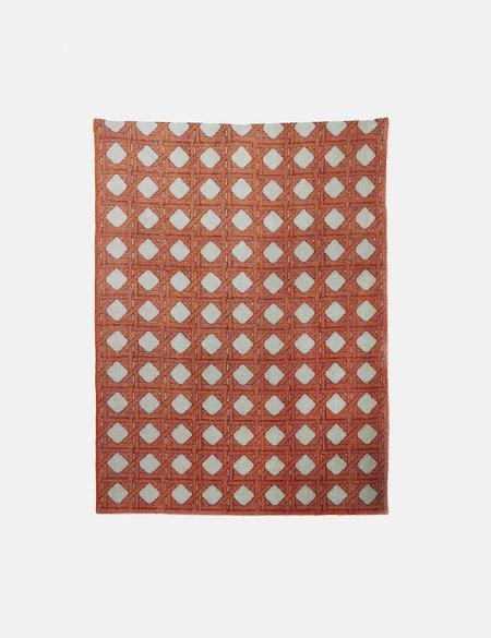ZigZag Zurich Tangier Wool Blanket - Tan