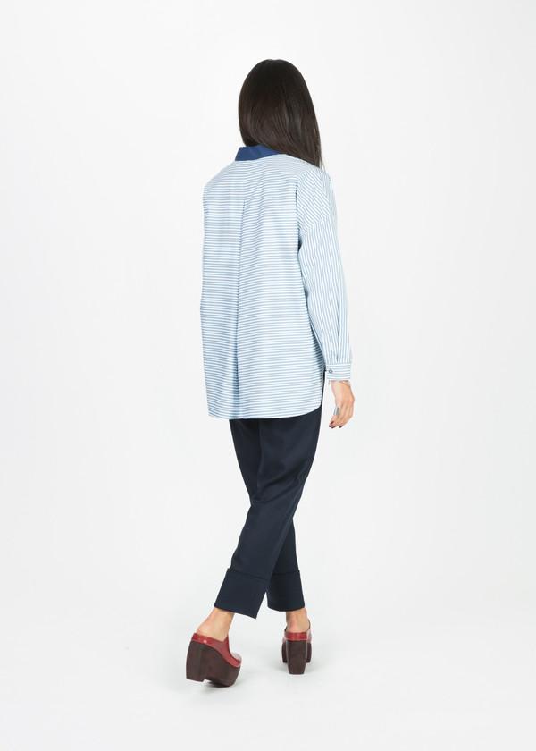 Odeeh Contrast Collar Shirt