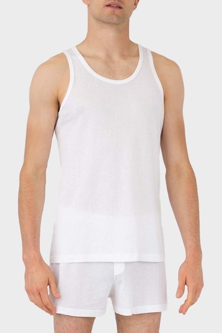 Sunspel Cellular Cotton Vest