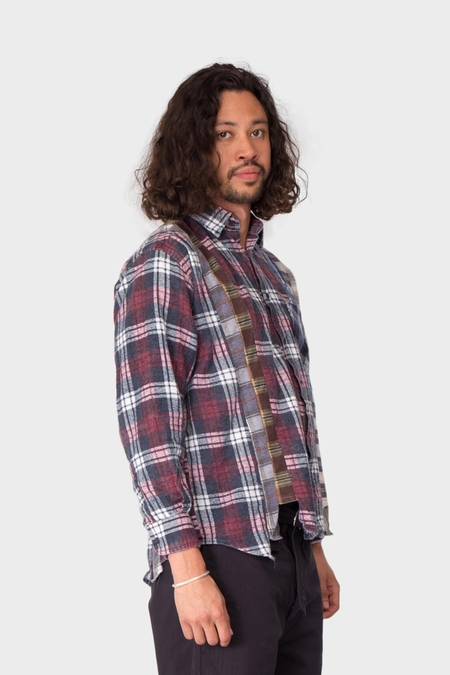 Rebuild By Needles 7 Cuts Flannel Shirt - Assorted