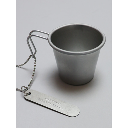 Mountain Research Mini Mug And Chain Necklace - Titanium