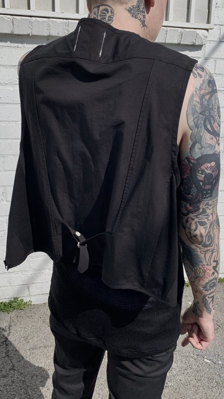 TAKAHIROMIYASHITA The Soloist. Poplin Pullover Shirt Type 1 - Black