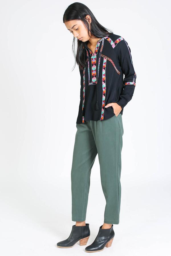 First Rite Narrow trouser in Jade