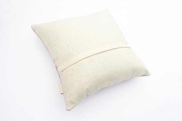 Primecut Tan Spotted Cowhide Pillow