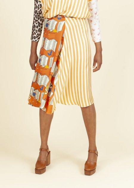 La Prestic Ouiston Parapluie Rayure Prestic Skirt - Multi