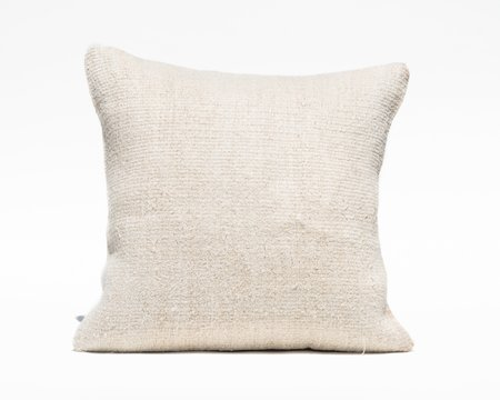 Collected by Wynne Ware Antique Turkish Hemp Pillow Cover II - Natural