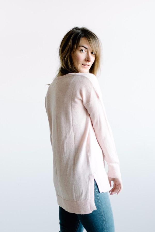 Poppy + Pima Sally Pullover // Pink