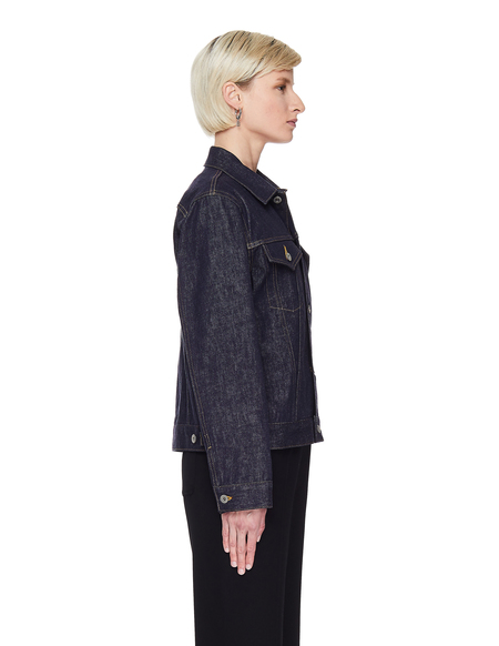 Junya Watanabe Cropped Jacket - Blue Denim