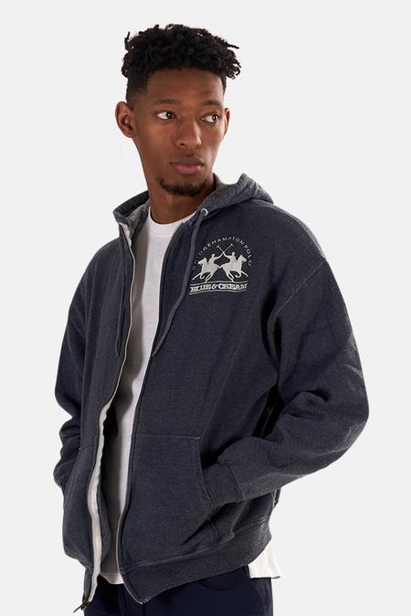Blue&Cream Bridge Hoodie Sweater - Cobalt