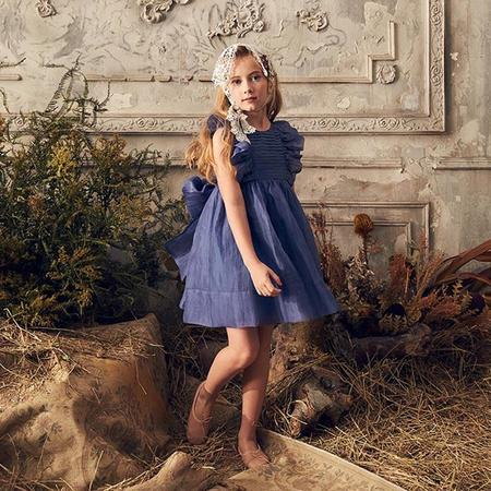 Kids Nellystella Mae Dress - Venture Violet Purple