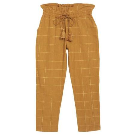 Kids Polder Girl Cees Pants - Mustard