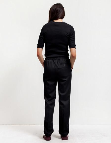 Sunspel Womens Drawstring Trousers - Black
