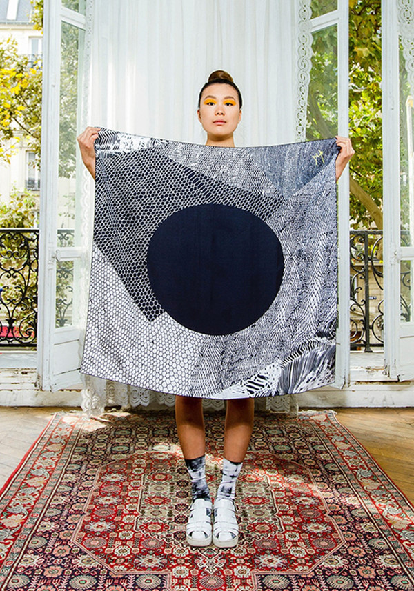 Marlene Huissoud Galaxy Scarf